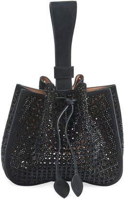 Alaia Rose Marie Wristlet Small Bucket Bag