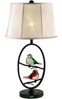 Dale Tiffany Dale TiffanyTM LED Finch Oval Table Lamp