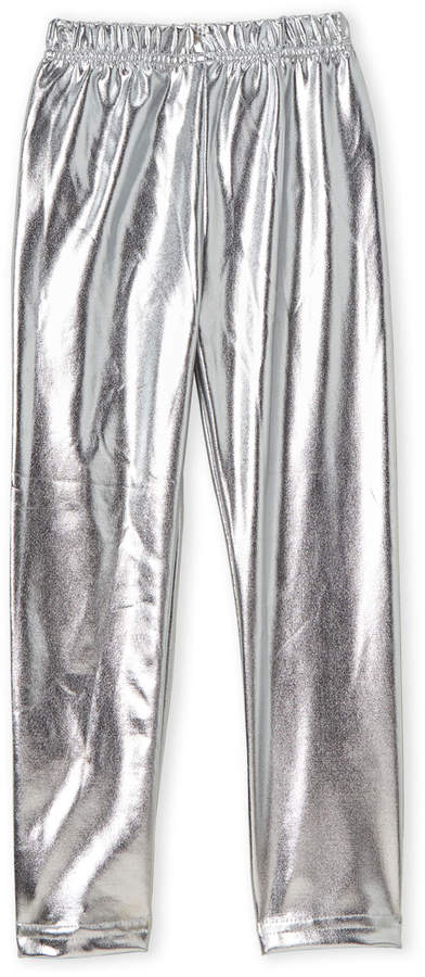 95b079dd3eca8 Kids Silver Leggings - ShopStyle