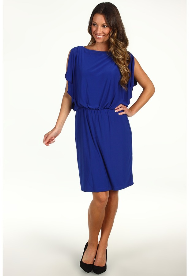 rsvp Jade Dress (Colbalt) - Apparel