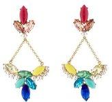 Lulu Frost Multicolor Crystal & Faux Pearl Drop Earrings