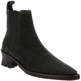 High Pointed ankle boot