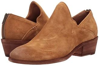 Frye Carson Shootie (Brandy Oiled Suede) Women's Boots