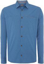 Linea Bond Spot Print Long Sleeve Shirt
