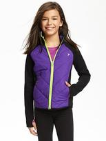 Old Navy Quilted Performance Jacket for Girls