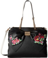Betsey Johnson Belle Rose Satchel Satchel Handbags