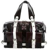 MCM Boxcalf Leather Satchel