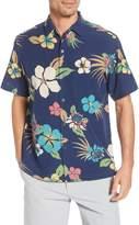 Tori Richard Protea Classic Fit Floral Short Sleeve Button-Up Shirt