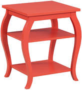 Powell Company Orange Panorama Side Table
