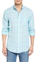 Vineyard Vines Ocean Bay - Tucker Classic Fit Plaid Sport Shirt