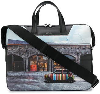 Paul Smith Shop Front Briefcase
