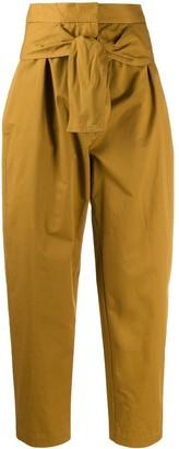 Zimmermann Espionage Obi Drill tapered trousers