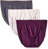 Vanity Fair Women's 3 Pack Illumination Hi Cut Panty 13308