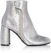 Stella McCartney Women's Faux-Snakeskin Ankle Boots