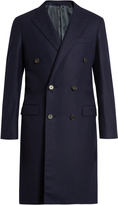 Lanvin Peak-lapel double-breasted coat