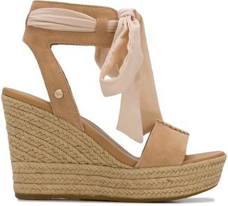UGG Wedge Espadrille Sandals