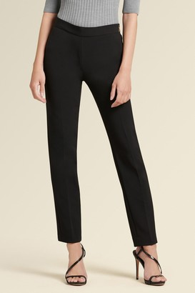 Donna Karan Side Zip Straight Leg
