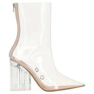 Yeezy White Plastic Boots