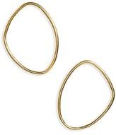 Soko Women's Sabi Outline Large Stud Earrings