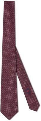 Gucci Horsebit silk tie