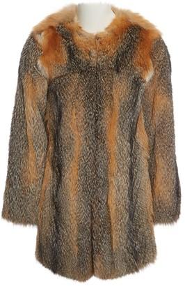 Zadig & Voltaire Beige Fox Coat for Women