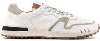 Buttero Perforated Low-Top Trainers