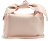Simone Rocha Knotted leather clutch