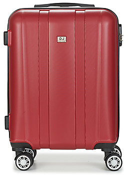 David Jones CHAUVETTO 40L women's Hard Suitcase in Red