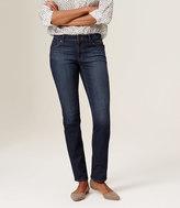 LOFT Tall Curvy Straight Leg Jeans in Vintage Mid Indigo Wash