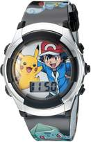 Pokemon Kids' POK3018 Digital Display Quartz Watch