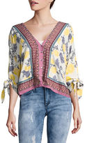 Free People Fresh Squeezed Button-Front Blouse