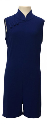 Norma Kamali Navy Polyester Jumpsuits