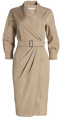 Max Mara Calia Wrapped Shirtdress