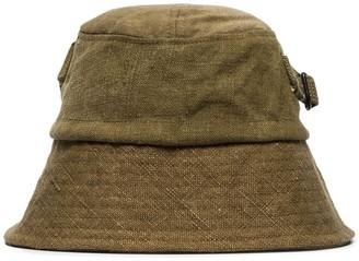 By Walid Callum wide-brim bucket hat