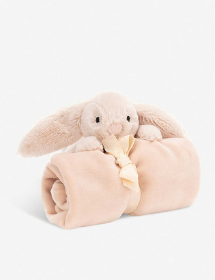 Jellycat Shooshu Bunny soft toy and soother set