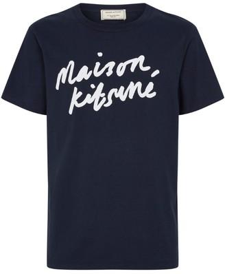 MAISON KITSUNÉ Cotton Logo T-Shirt