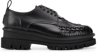 DSQUARED2 twin sole Derby shoes