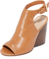 Tory Burch Grove Open Toe Booties