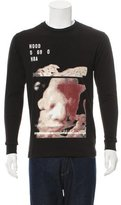 Hood by Air Graphic Crew Neck Sweatshirt w/ Tags