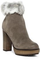 Manas Design Faux Fur Ankle Bootie