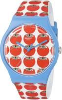 Swatch Women's SUOS102 Analog Display Swiss Quartz Watch