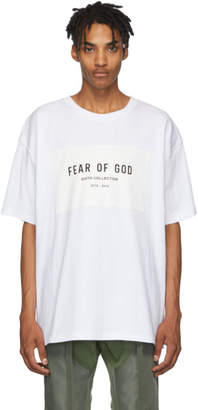 Fear Of God White Sixth Collection T-Shirt