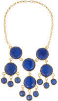 Kenneth Jay Lane Gold-plated resin necklace