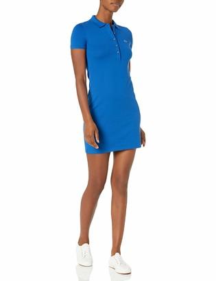 Lacoste Women's Classic Short Sleeve Stretch Mini Pique Polo Dress Ef8470