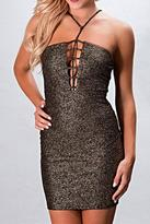 BRANDED Shimmer Club Dress