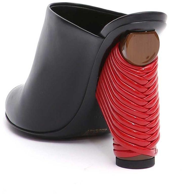 Balenciaga Open Toe Heeled Sandals