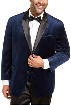 INC International Concepts Inc Men Big & Tall Max Velvet Blazer