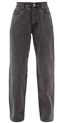 Eytys Benz Straight-leg Jeans - Womens - Black