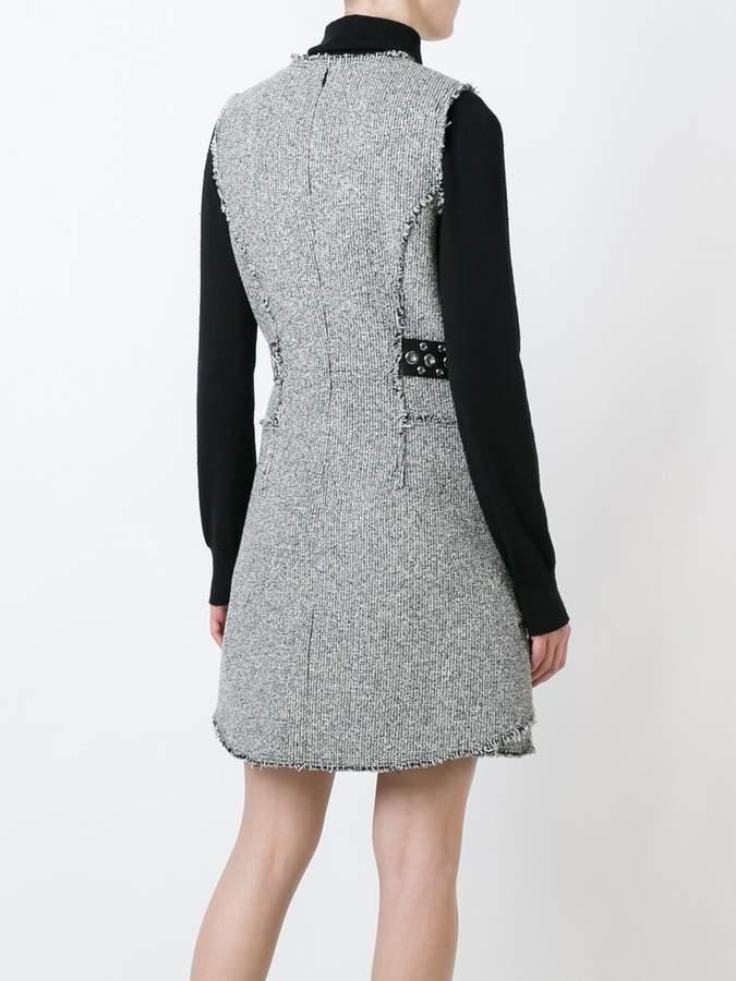 Alexander Wang tweed peplum dress