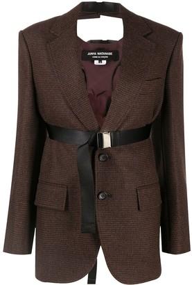 Junya Watanabe Oversize Belted Suit Jacket